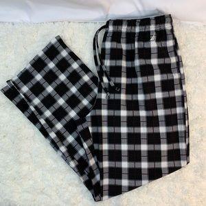 🔑 Nautica men's flannel pants Large
